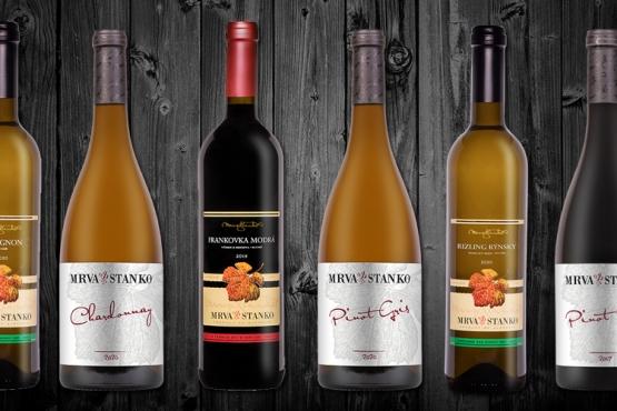 Objednajte si degustačný set vín 3. plnenia MRVA & STANKO (+ darček)