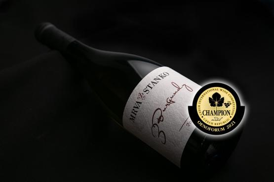 3 Burgundy šampiónom cuvée kategórie medzinárodnej výstavy vín Oenoforum 2021