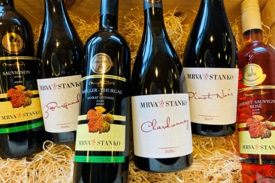 10 vín MRVA & STANKO v Národnom salóne 2021