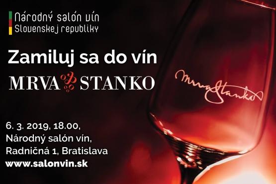 Zamiluj sa do vín Mrva & Stanko