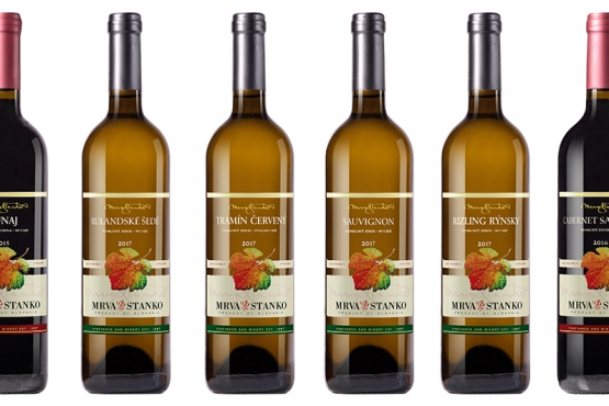 Objednajte si vopred degustačný set vín 2. plnenia Mrva & Stanko