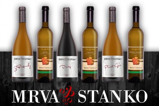 Objednajte si vopred degustačný set vín  2. plnenia MRVA & STANKO (darček 8 GB USB korok)