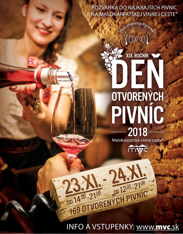 deň otvorených pivníc 2018
