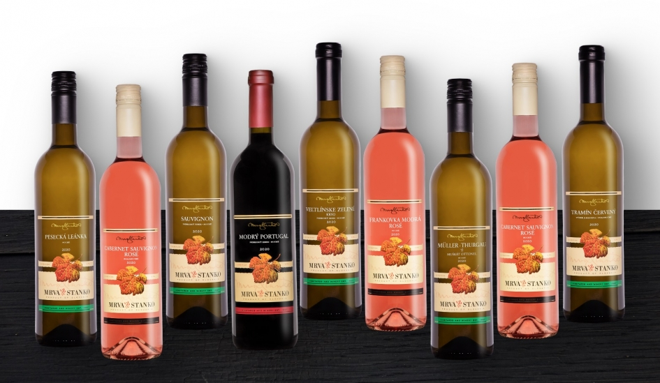 Ochutnajte mladé vína MRVA & STANKO ročníka 2020 ako prví