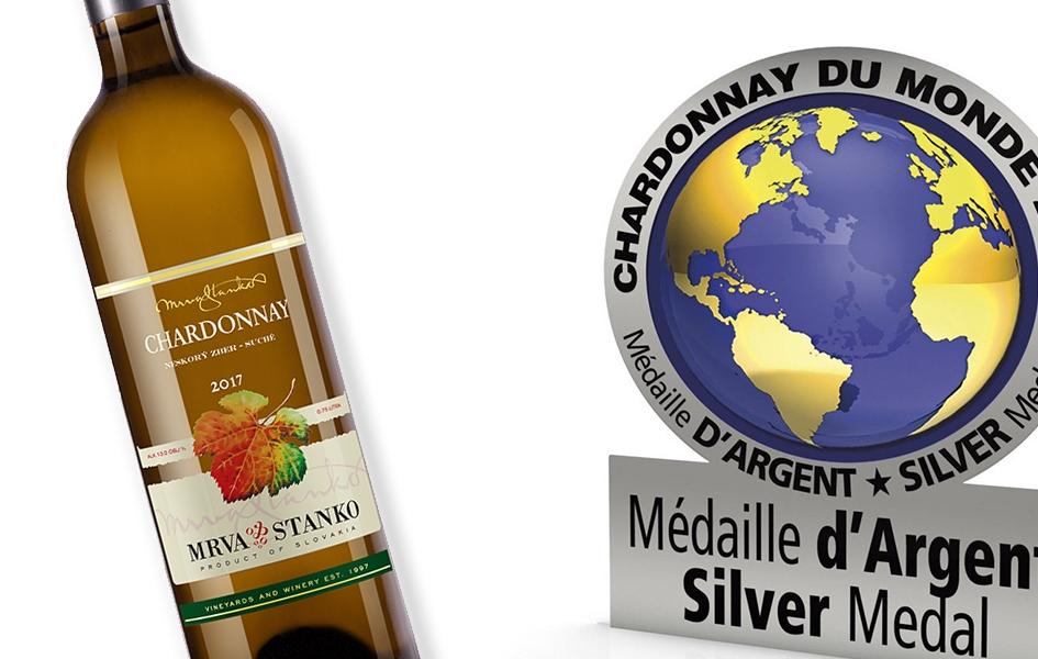Chardonnay strieborné v Burgundsku