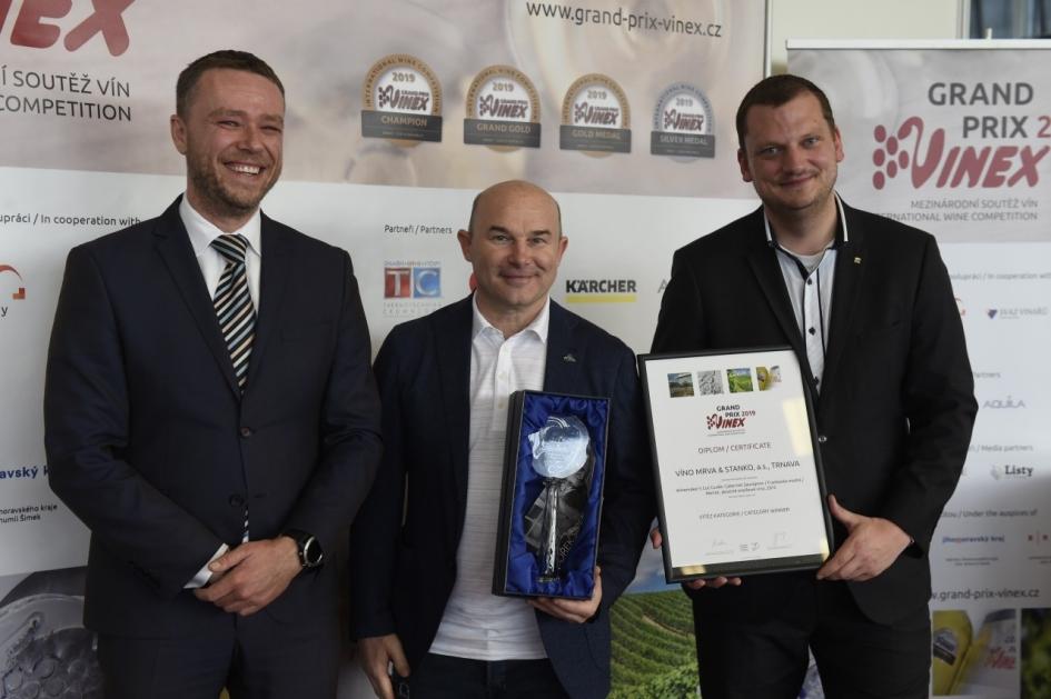 Mrva & Stanko cuvée víťazom Grand Prix Vinex 2019