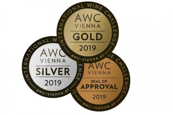 Plný zásah našich vín na AWC Vienna 2019