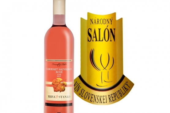Cabernet Sauvignon rosé – Šampión Národného salónu vín 2020