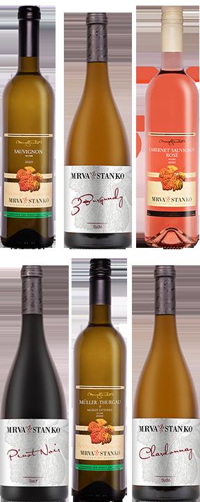 Degustačný set: Národný salón vín 2021